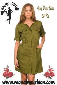 ARMY DRESS verde