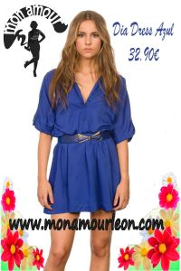 DIA DRESS azul