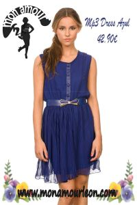 MP3 DRESS azul
