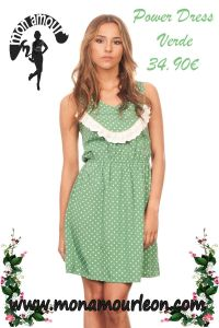 POWER DRESS verde