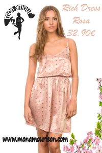 RICH DRESS rosa