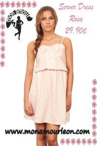 SERVER DRESS rosa