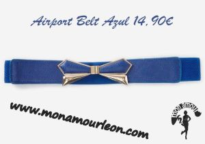 AIRPORT BELT azul