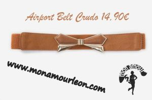 AIRPORT BELT crudo