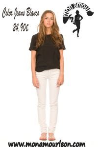 COLOR JEANS blanco