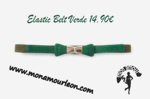 ELASTIC BELT verde