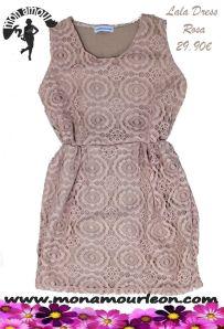 LALA DRESS rosa