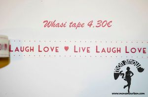 Live Laugh Love en tonos rojos