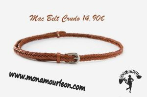 MAC BELT crudo