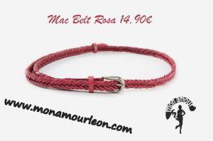 MAC BELT rosa