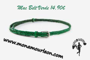 MAC BELT verde