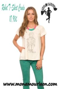 ROBOT T-SHIRT crudo