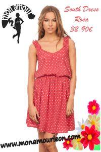 SOUTH DRESS rosa