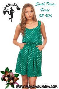 SOUTH DRESS verde