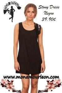 STONY DRESS negro