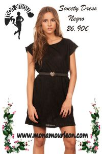 SWEETY DRESS negro