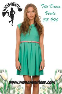 TITI DRESS verde