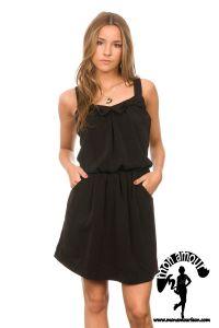 2 Strap Dress negro