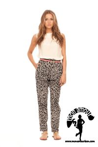 TIGER PANTS multicolor